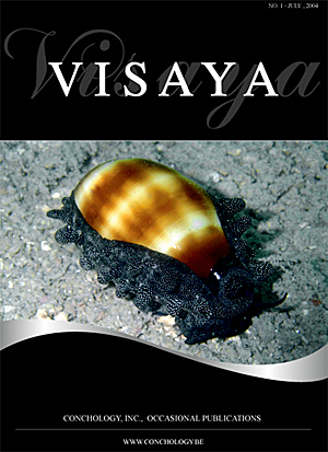 Visaya Vol 1 No Journal Of Conchology Inc Cebu